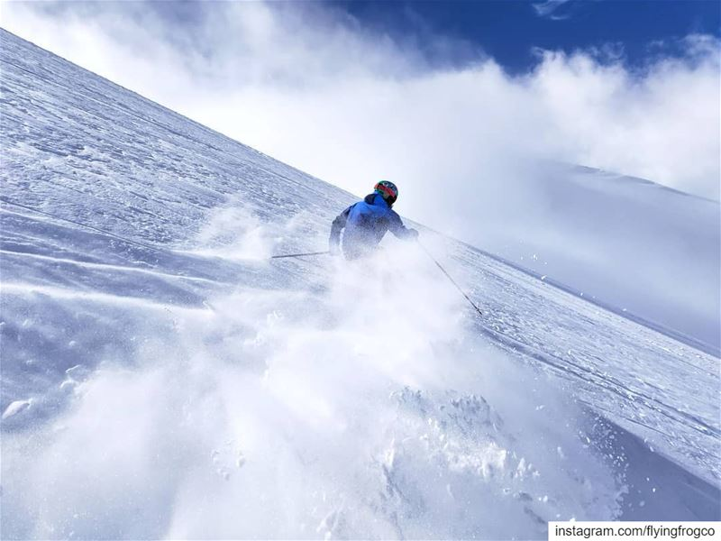 POWDER U wanna learn how to shred some POW?! Now we have the right ... (Mzaar Kfardebian)